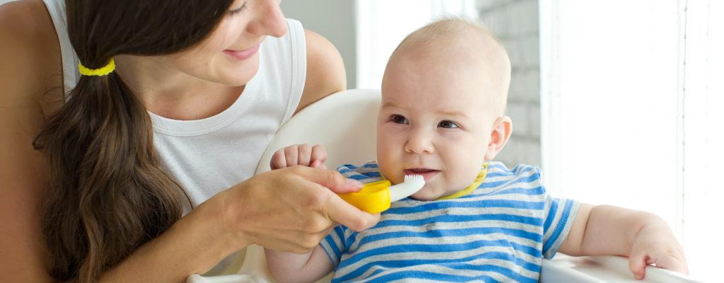 아기의 치아를 돌보는 방법을 알고 있습니까?