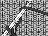 뜨개질에 표면 크로 셰 뜨개질을 추가하는 방법