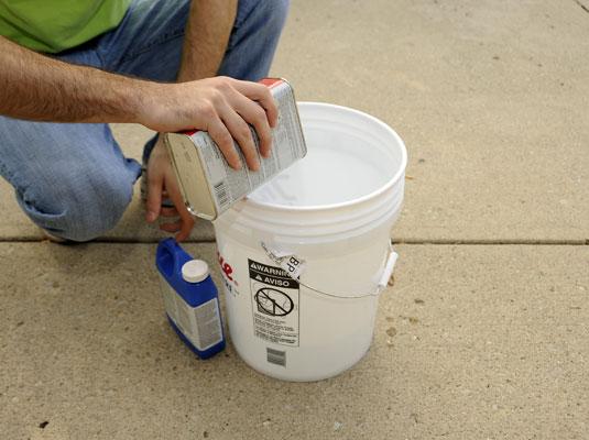 콘크리트 밀봉 방법