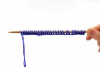 이중 뾰족한 바늘에 라운드 뜨개질하는 방법