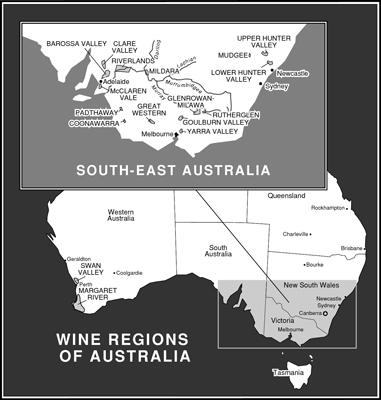 호주의 와인 산지