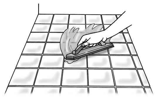 조리대를 타일링하는 방법