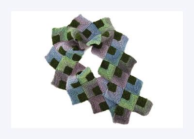 모듈러 스카프 뜨개질 방법